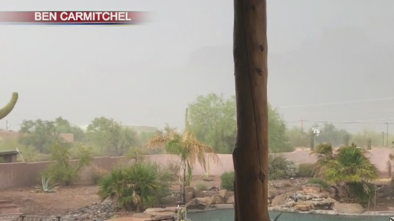 Recapping Sunday`s monsoon weather